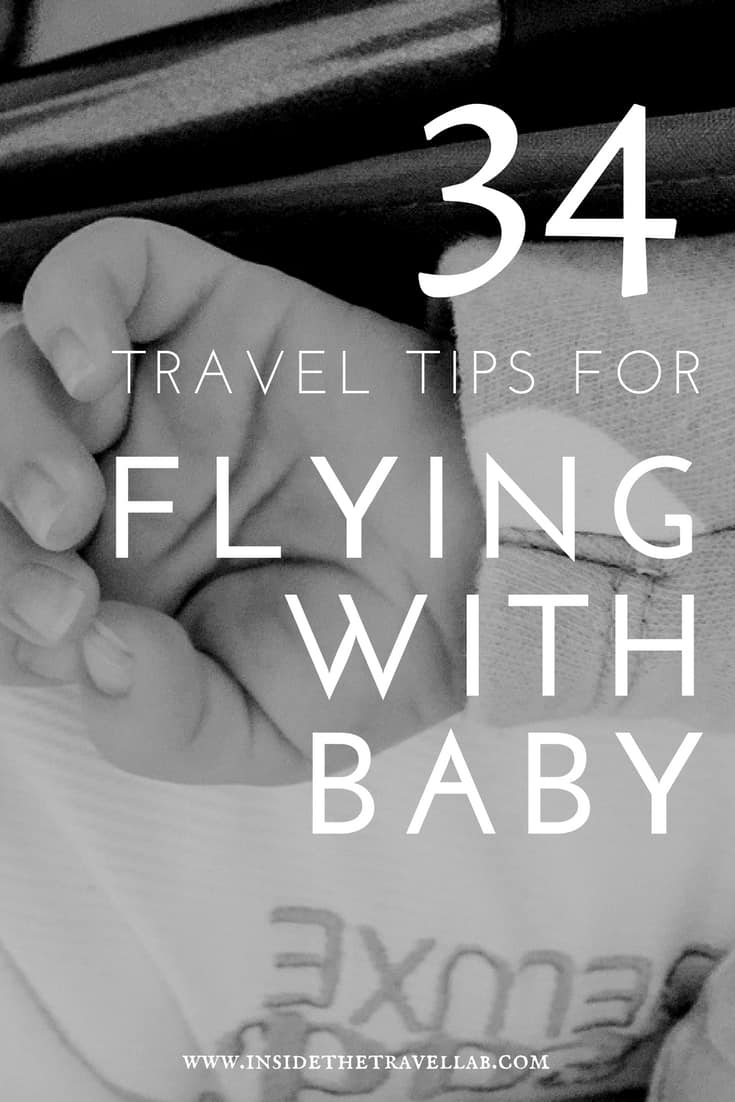 34 Travel Tips for Flying with Baby