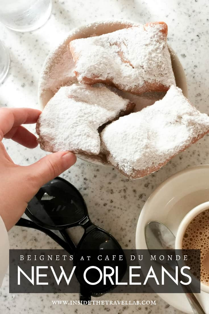 Beignet at Cafe du Monde serve as an excellent introduction to New Orleans and Louisiana. See the French Quarter and find out what to do next - via @insidetravellab