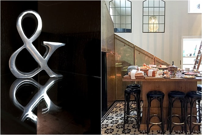 Ampersand Apero Dining Area in London
