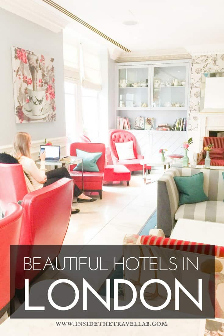 he Ampersand Hotel in London - A Beautiful Boutique Hotels in South Kensington England - one of the best London hotels