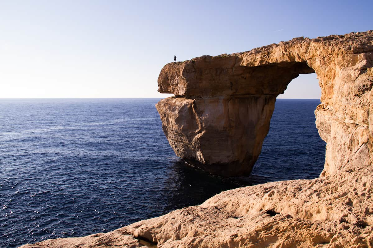 Azure Window in Gozo Malta