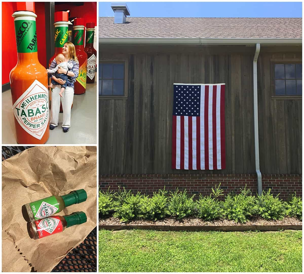 Visiting the tabasco factory on Avery Island in Louisiana`