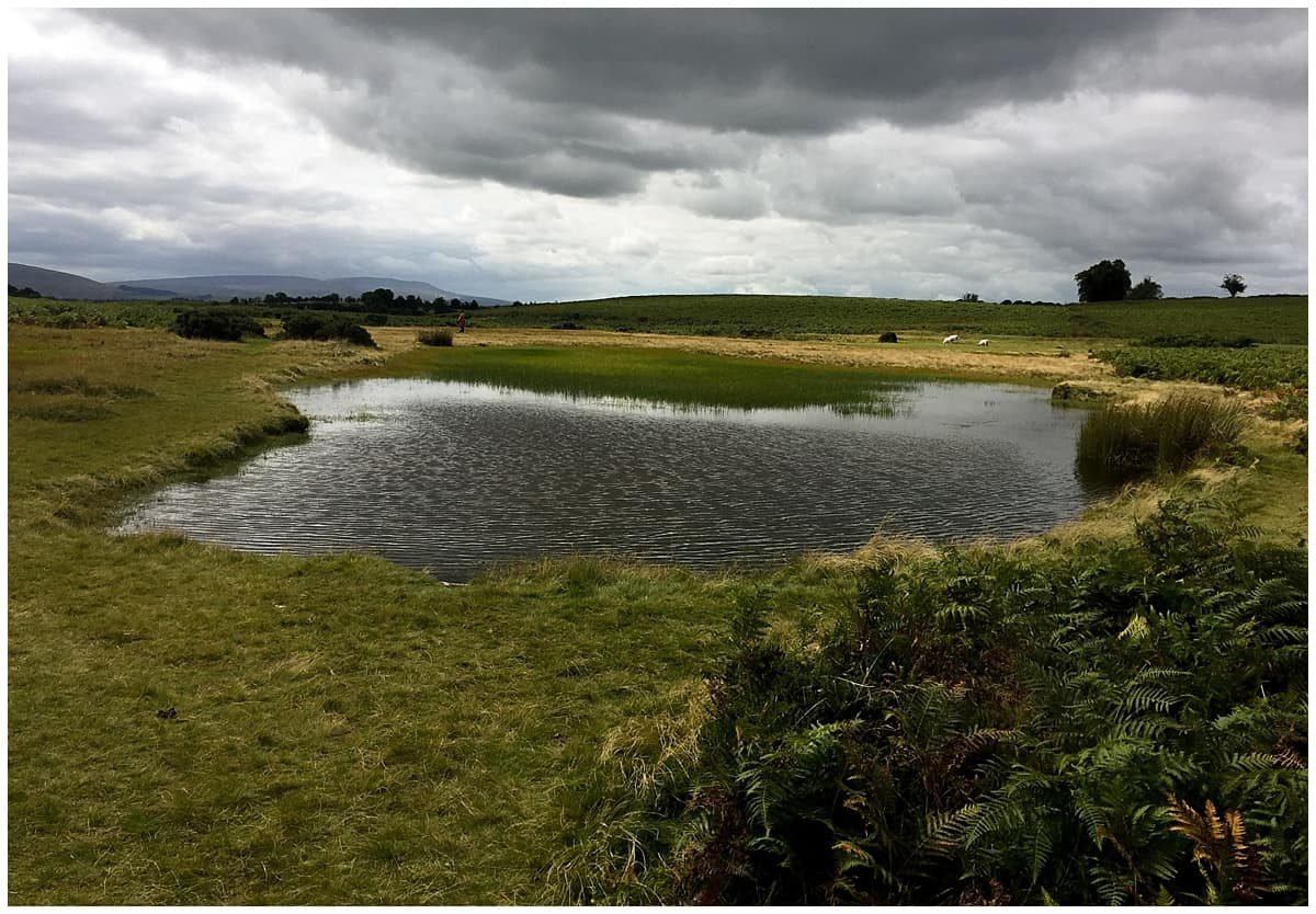 Brooding lake in the BRecon Beacons National Park