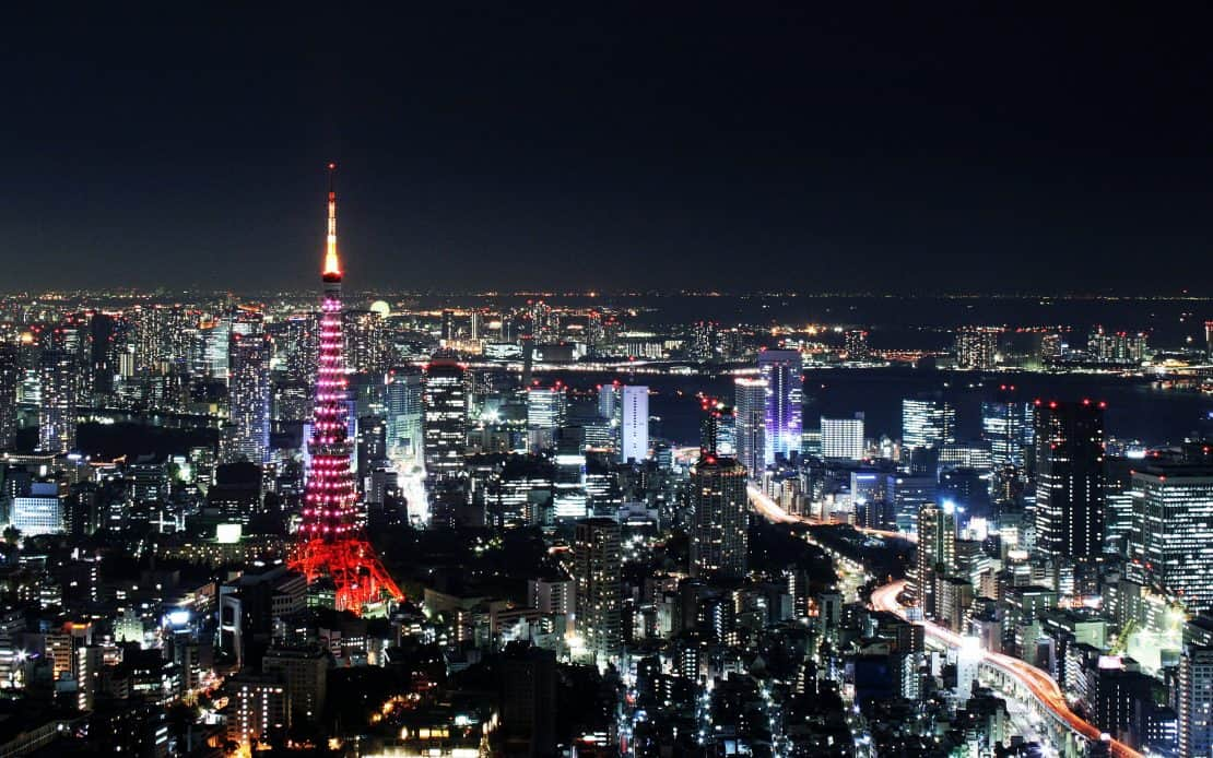 What to do in Japan in 5 days - start with the Tokyo tower and then follow this itinerary