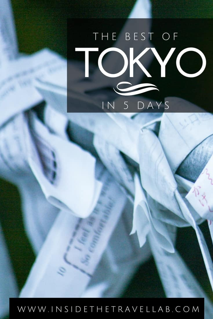 When looking for things to do in Tokyo, here is the perfect 5 day itinerary to start your travels in Japan. From @insidetravellab