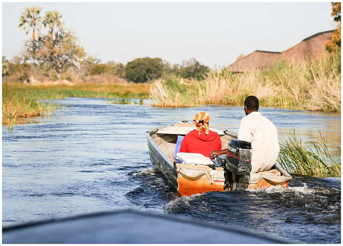 Real life on the Okavango Delta in Botswana