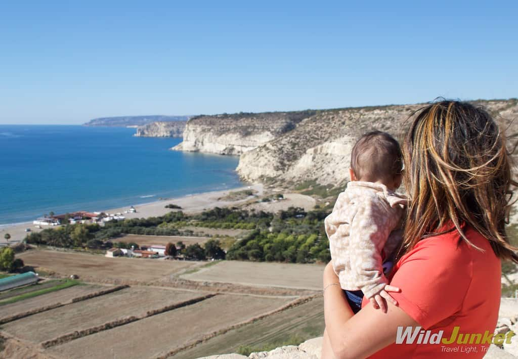 Cyprus - one of the best places to travel with a baby according to Wild Junket
