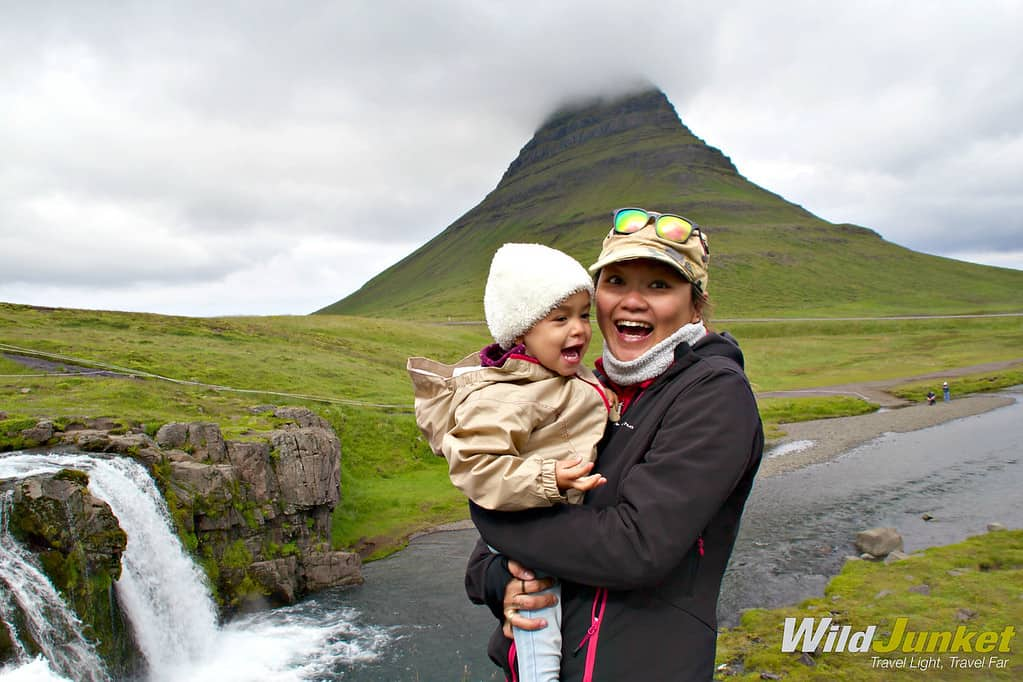 Travel with a baby to Iceland