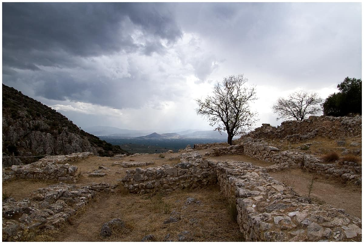 Mycenae in the Peloponnese