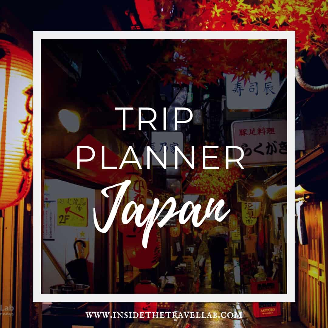 Japan Itinerary Trip Planner