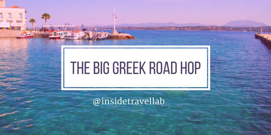 The Big Greek Road Hop - Itinerary through the Peloponnese