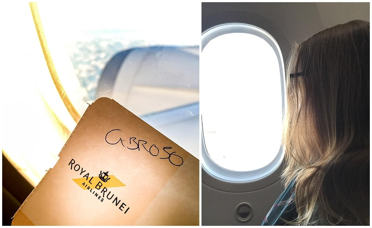 Flying with Royal Brunei to Dubai for Ras Al Khaimah
