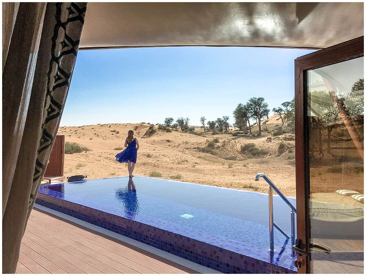 Ras al Khaimah glamping in the Al wadi Nature Reserve