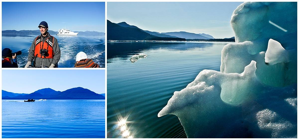 On the water with the ice in Alaska's Inside Passage