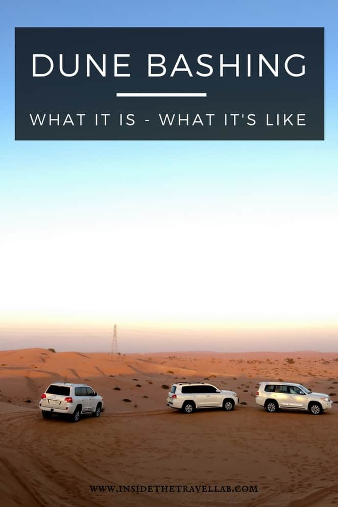 Great fun in a cultural context > Dune bashing in the desert in the UAE (United Arab Emirates) in Ras Al Khaimah. Plus things to do in the Emirates and flavours to taste from @inisdetravellab