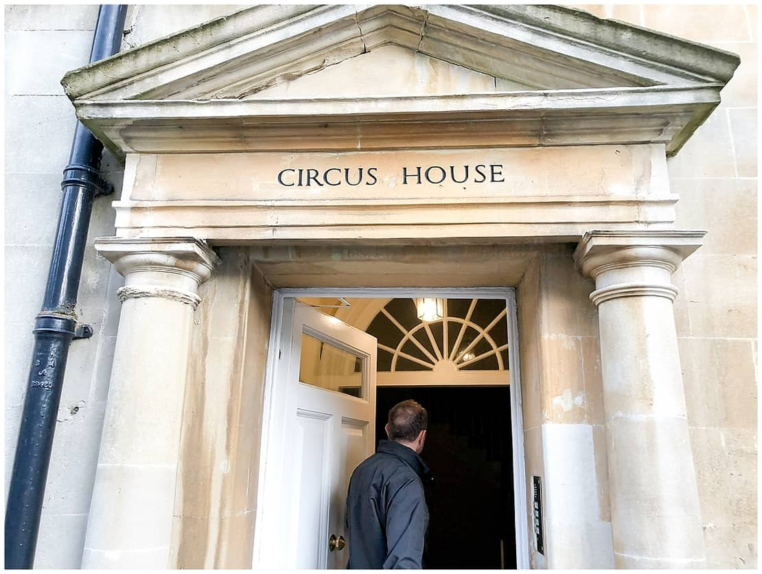Staying in Circus House Bath