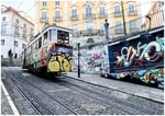 Trams in Lisbon - a favourite photo thing to do in Portugal