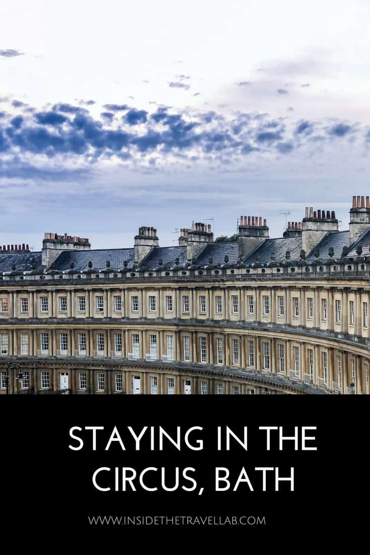 Bath in England deserves so much more than just a day trip from London. Stay in the iconic part of The Circus to see the city at its best and explore one of the best places to travel in Britain. #Bath #Luxury #England #TravelEngland