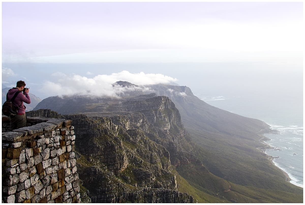 Table Mountain in Cape Town - one of the best places to visit in Africa