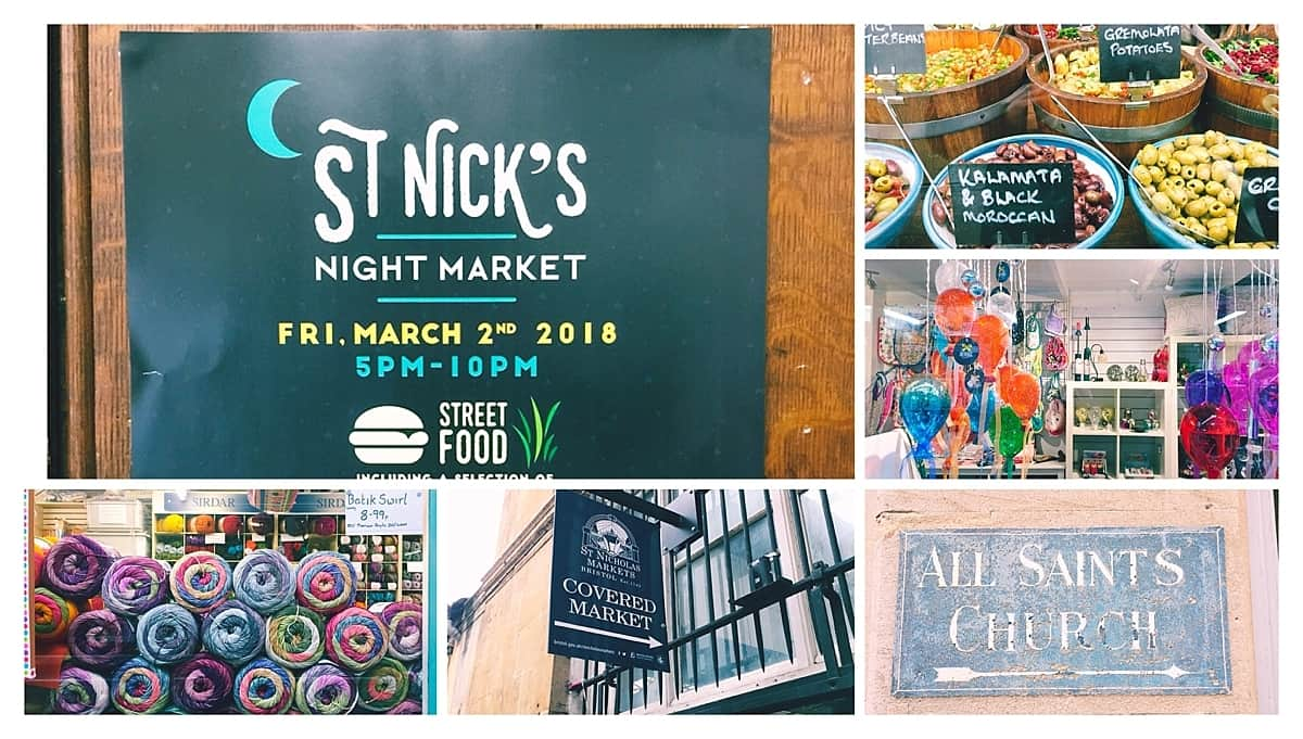 Where to eat in Bristol - St Nicholas Market