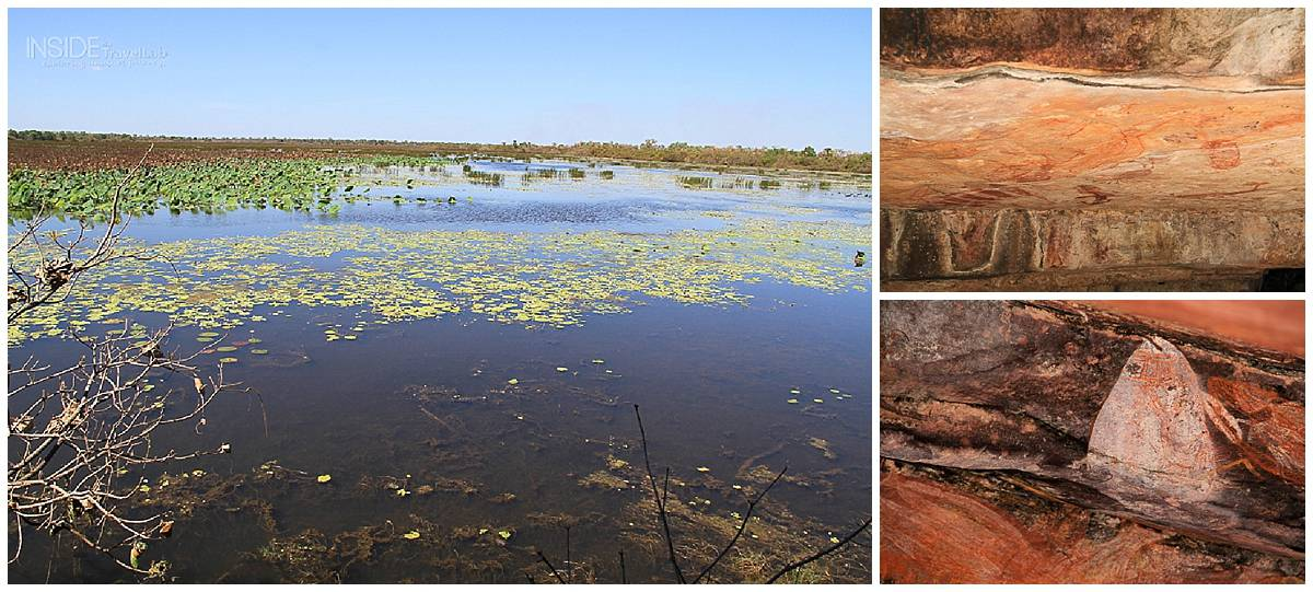 Aboriginal art and waterways in Kakadu Park