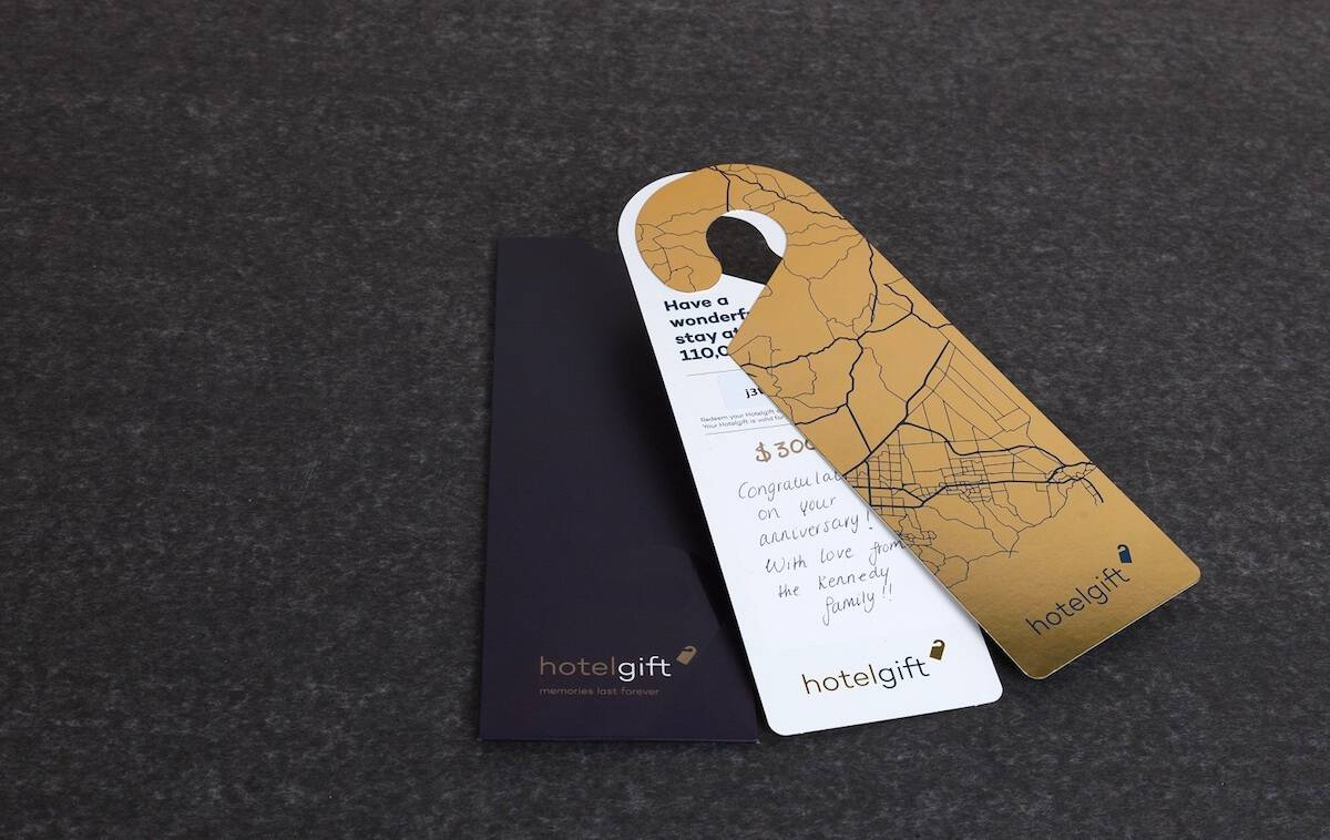 Hotelgift luxury gift card cop