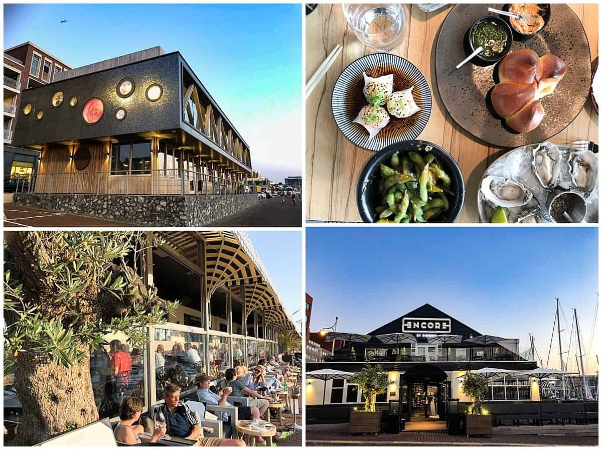 Dining Options at Scheveningen Beach