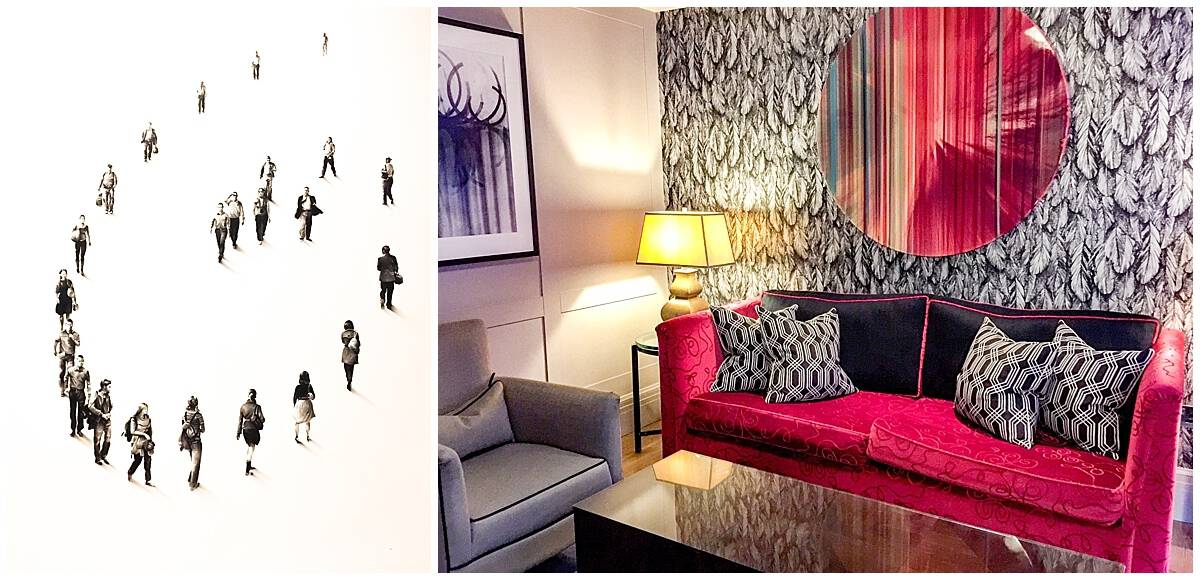 Rooms at the Arch Hotel London