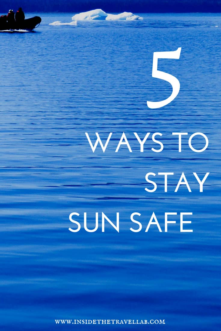 Sun safety for kids and adults. Five ways to stay sun safe whether at home or abroad. Top tips from experts on sun safety, including when to wear sunscreen and what to do if you do have sunburn. Useful, practical, and an easy read ;-)