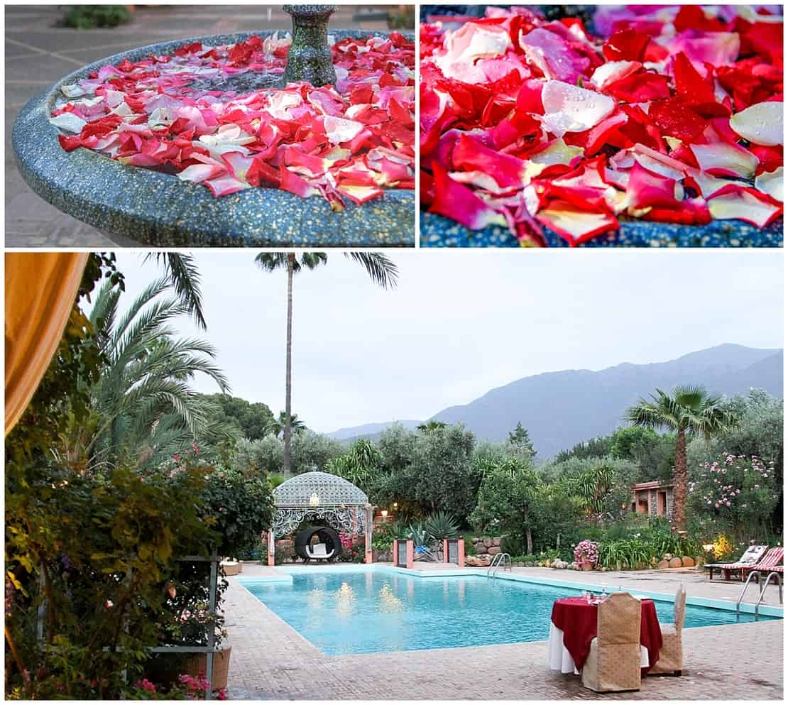 Where to stay in the Atlas Mountains - La Roseraie in Morocco