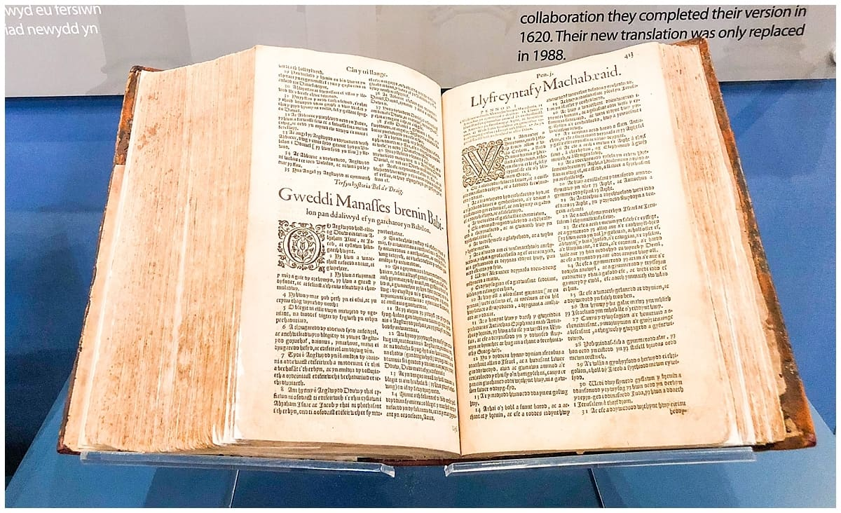 Wales - North Wales - St Asaph - William Morgan Bible Translation 1588