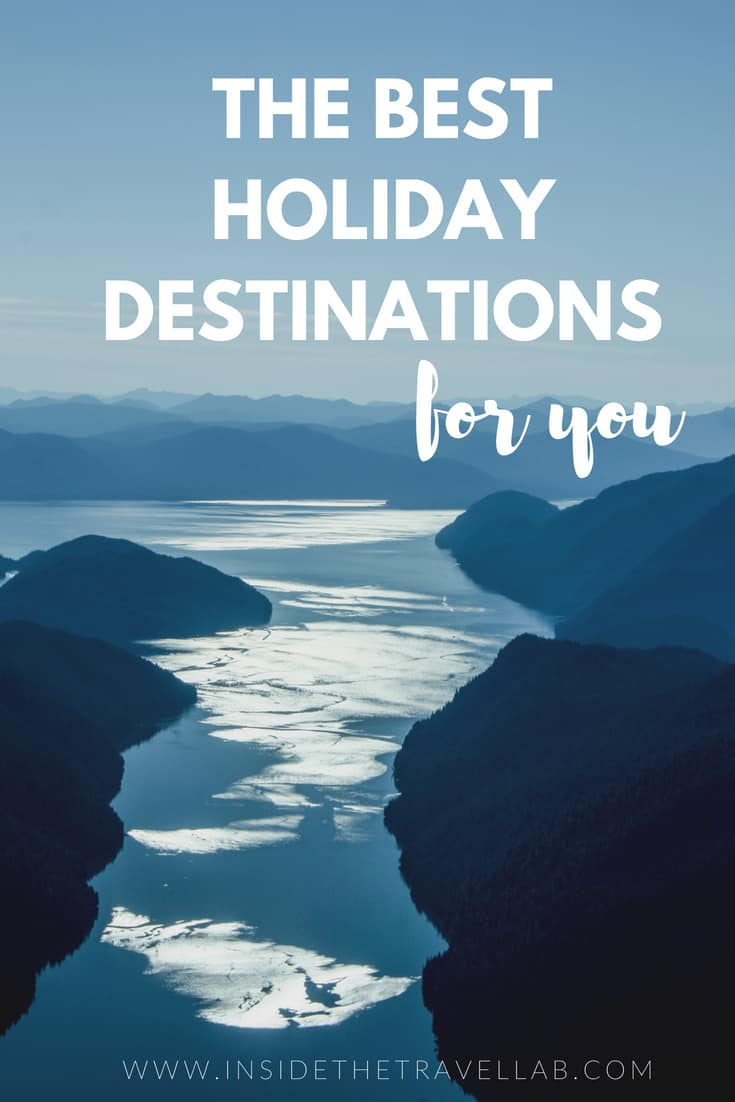 The Best Holiday Destinations for You