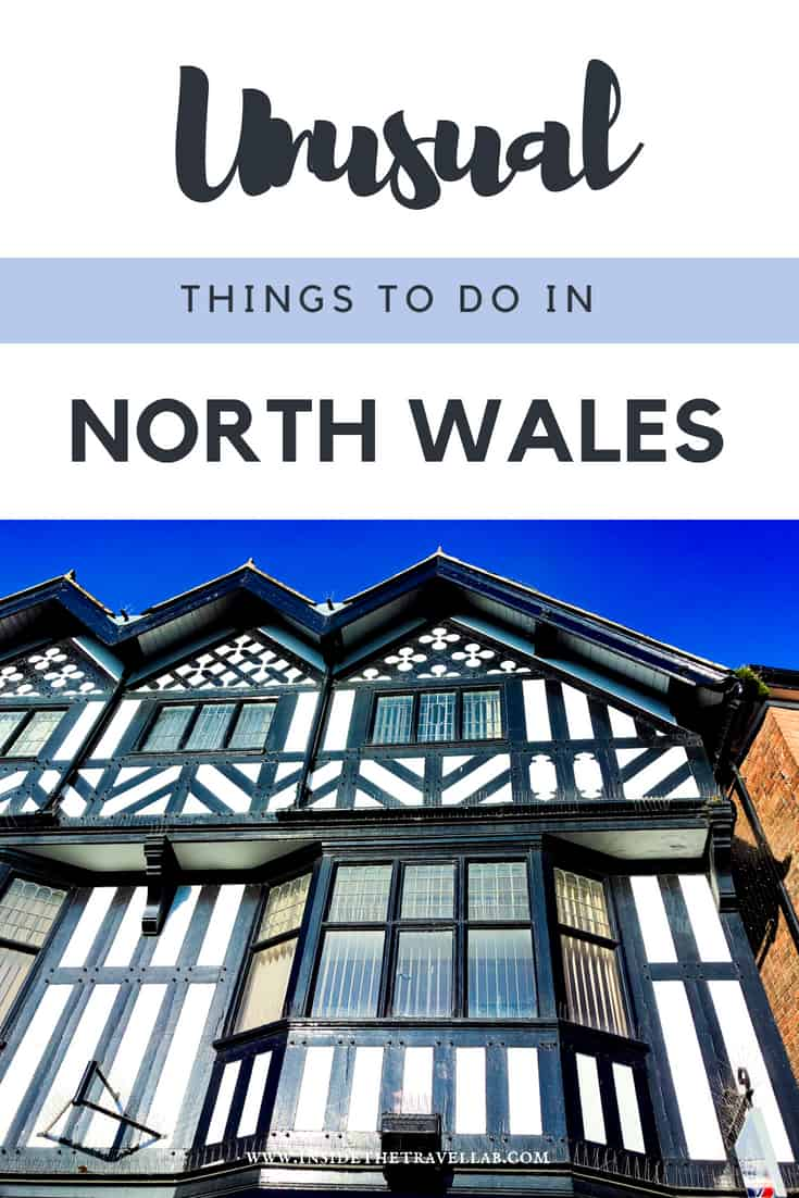 Unusual things to do in North Wales. Enjoy visiting Wales with this list of cool art centres, National Trust properties, gorgeous beaches and a UNESCO World Heritage Site. North East Wales offers canals, rugged beauty and intriguing history. There\'s even the first Welsh Bible. It\'s time to explore #Wales #AltogetherBrilliant #VisitWales #NorthWales #FollowYourEpic