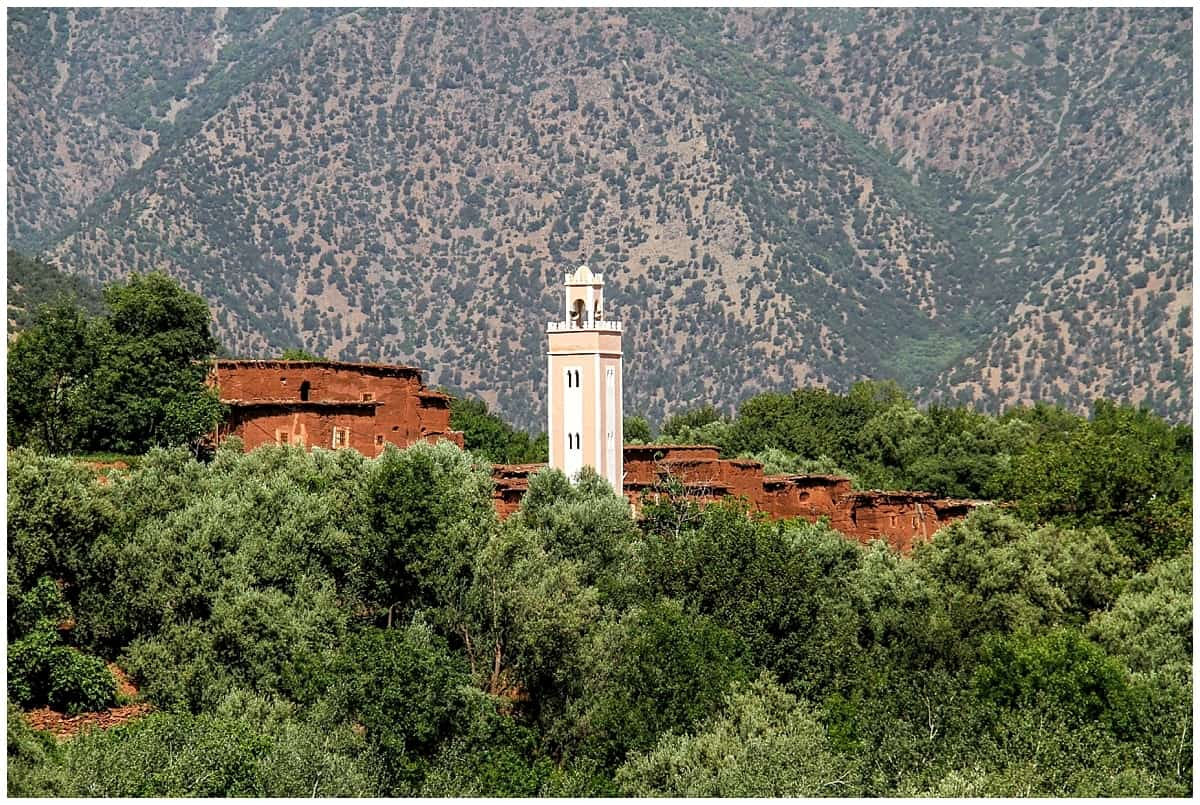 Stunning Atlas Mountains in Morocco