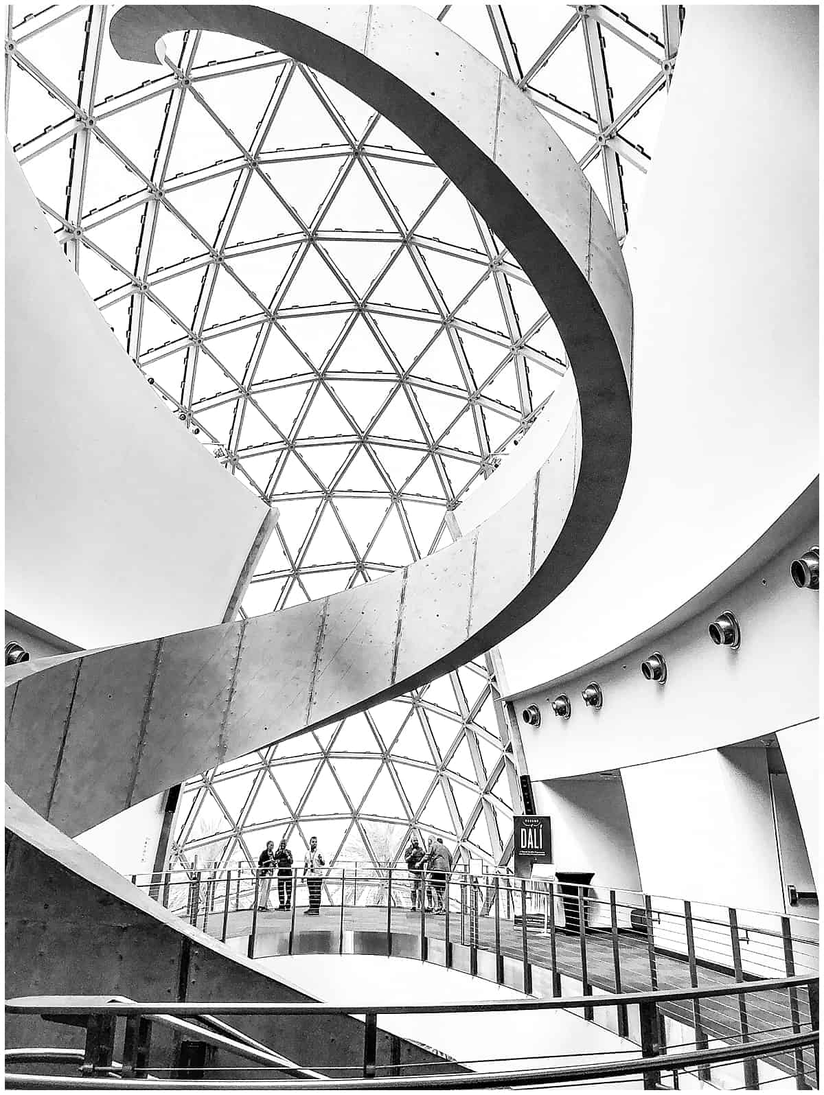 Inside the Dali Museum in Florida