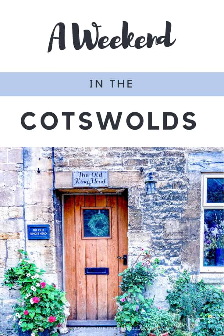 A weekend in the Cotswolds. A gorgeous Cotswolds itinerary for a long weekend in England's Cotswolds. Visiting Westonbirt Arboretum, Sudeley Castle, Cowley Manor and following in the footsteps of Alice in Wonderland. This Cotswolds itinerary shows you the real Cotswolds. #LoveGreatBritain #Cotswolds #England