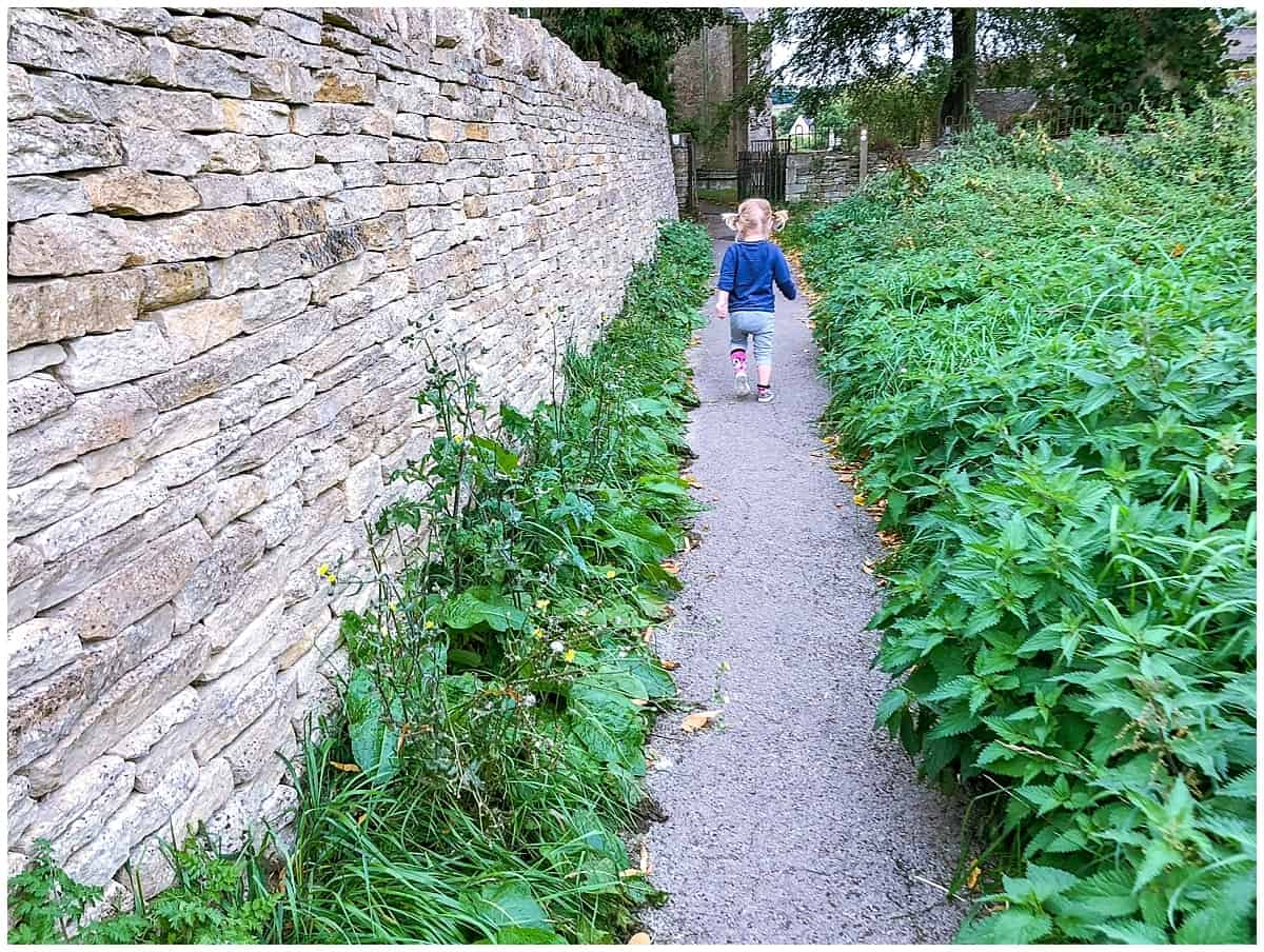Toddler Lab exploring the Cotswolds