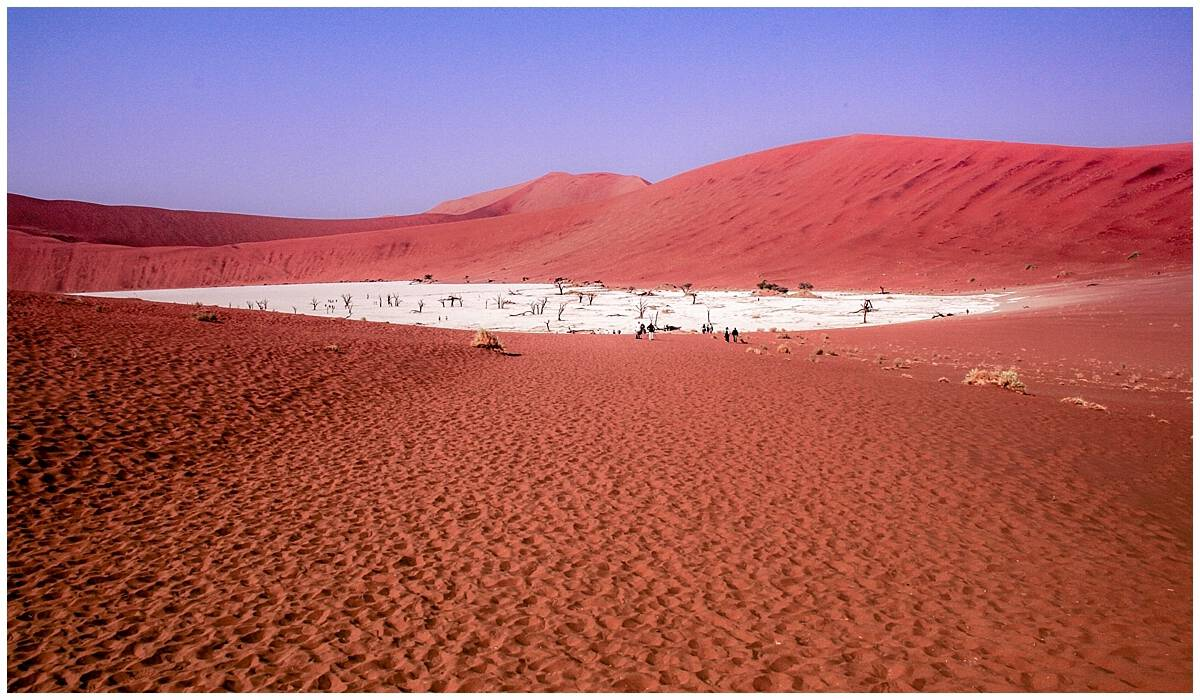 Namib Desert Oldest in the world in Namibia near Dune 45
