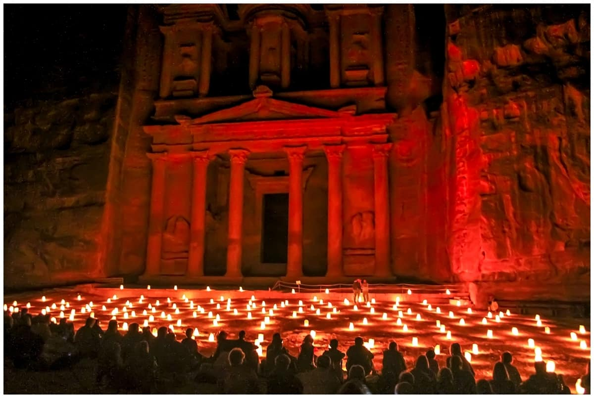 Petra By Night: The Power of a Path Into Darkness