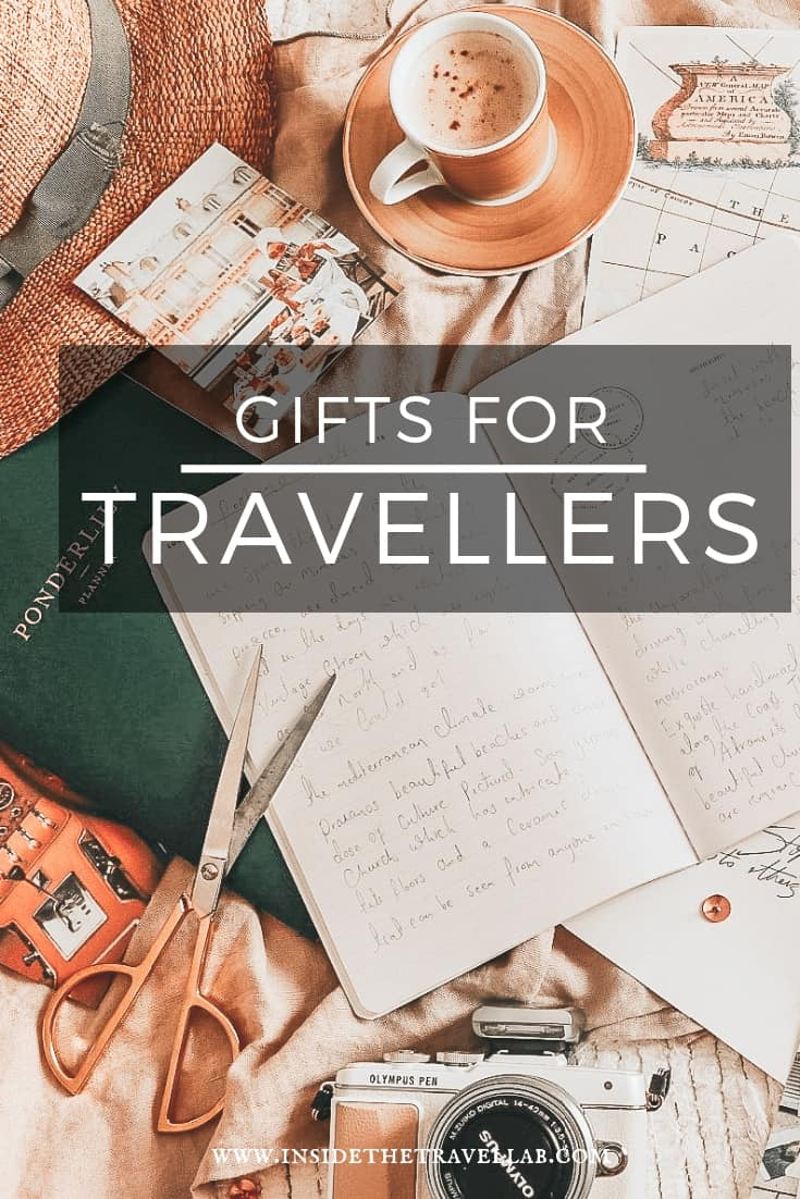 Gifts for travellers selection of ideas