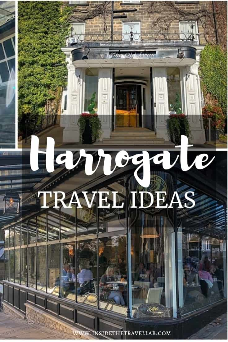 A selection of lovely things to do in Harrogate to relax and recharge, including Betty\'s Tea Rooms, The Chapel and lots more. #Harrogate #LoveGreatBritain #Yorkshire
