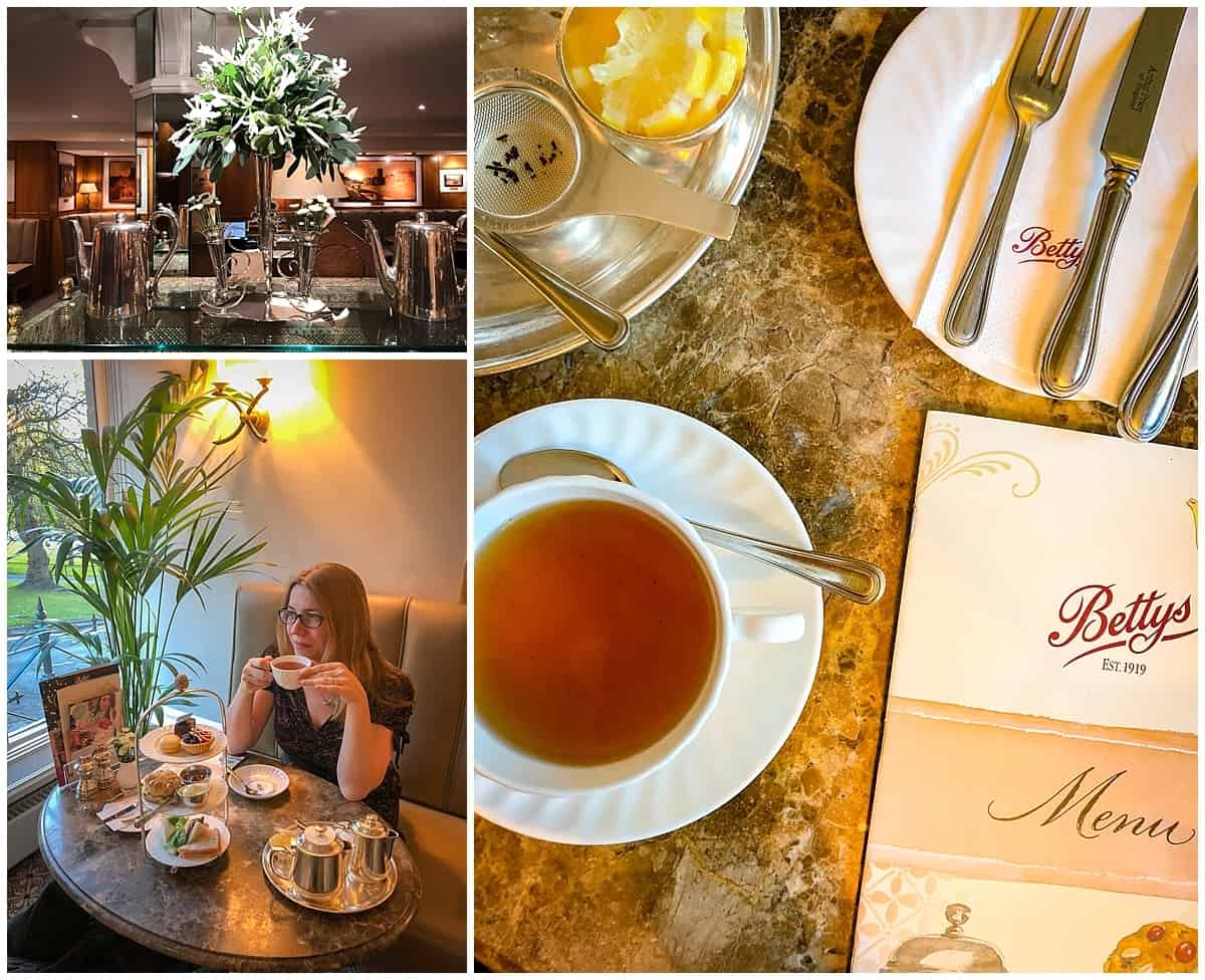 Things to do in Harrogate, Inside Betty's Tea Rooms Harrogate