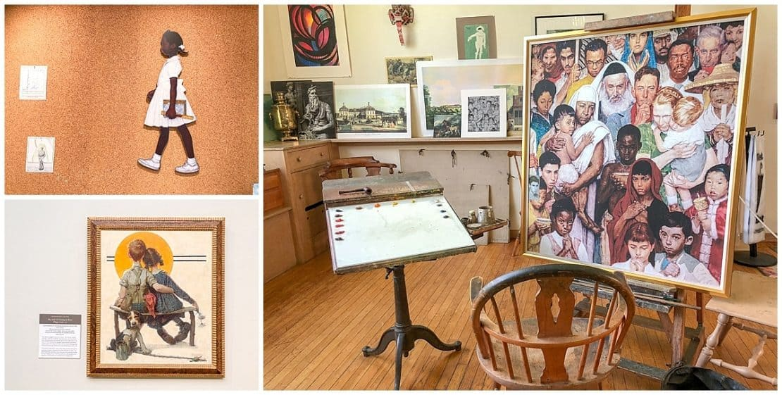 Inside the Norman Rockwell Museum