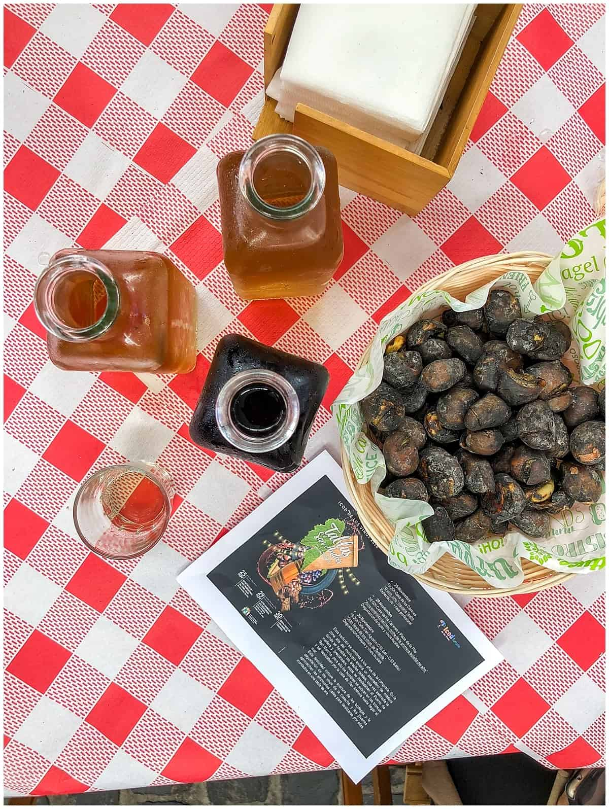 Tenerife Food Guide - roast chestnuts