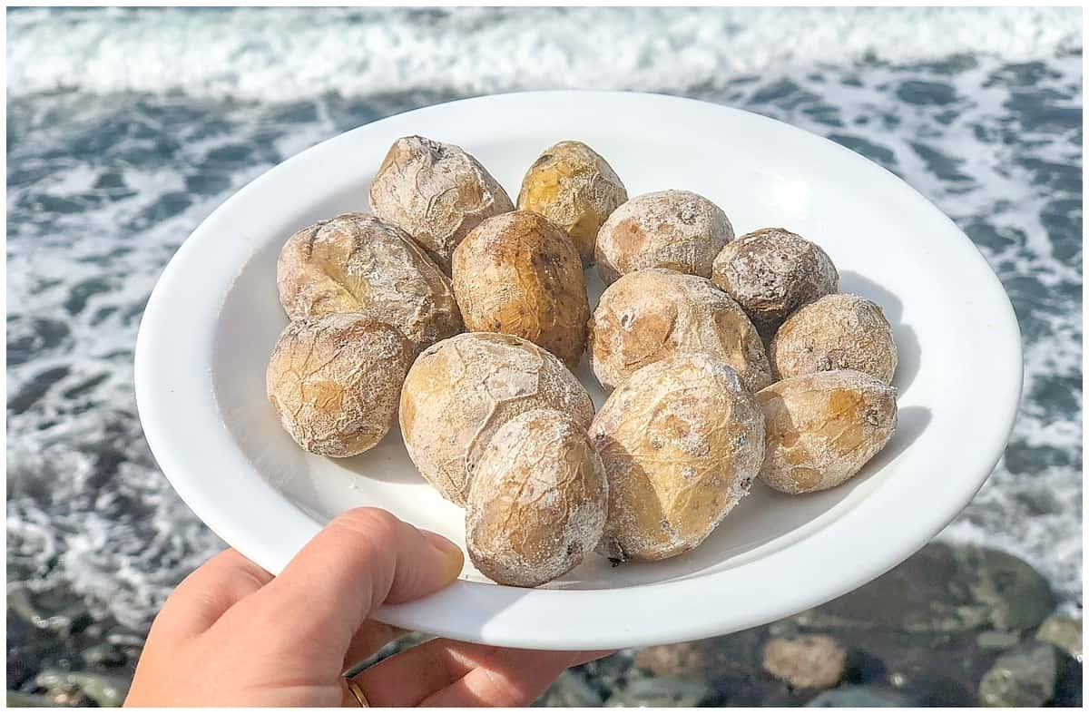 Tenerife Food Guide - papas arrugadas