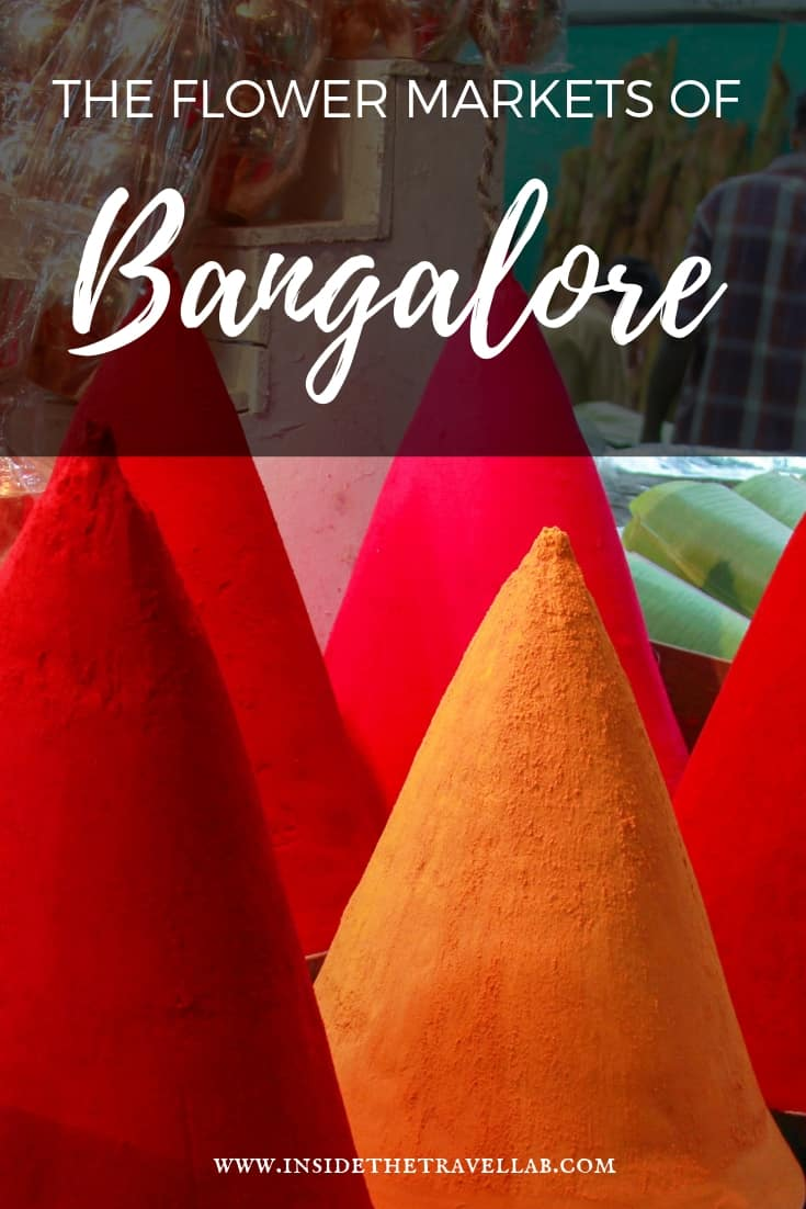 A visit to the Bangalore Flower Markets in Bengaluru provides colour, scent and sensation. It's an amazing part of a trip to India and should be on any itinerary to Bangalore. It's also a great place to feel involved. #India #Travel