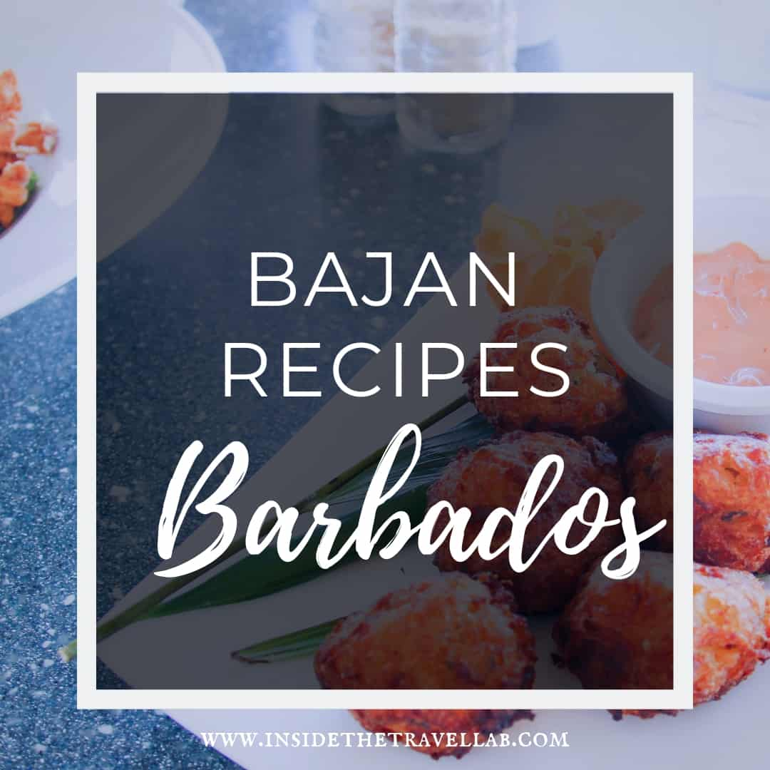 Bajan Recipes including flying fish and cou coul from Barbados