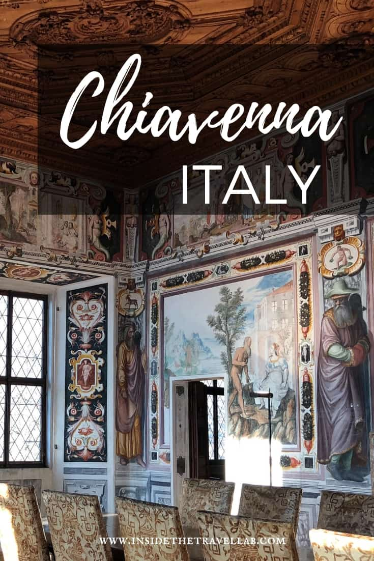 Your guide to Chiavenna Italy - what to see, where to stay and eat, day trips and lots more #Chiavenna #Italy