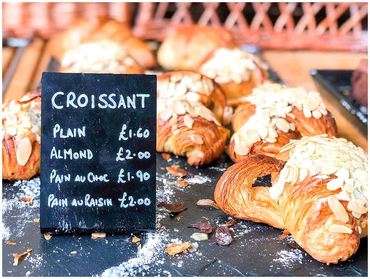Croissant at Longhope Forest Bakery Forest of Dean