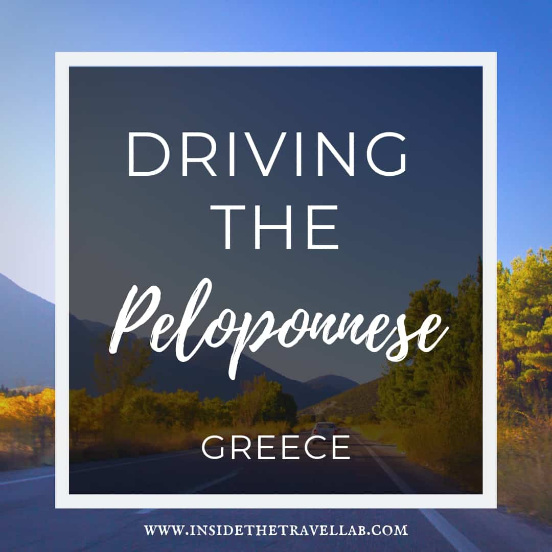 Driving the Peloponnese Greece